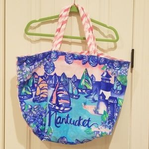 🆕️ Lilly Pulitzer Nantucket Destination Tote